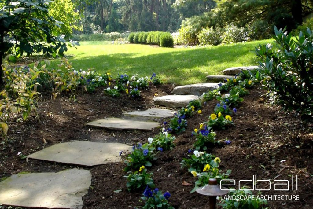 Ed Ball Landscape Architect Northern Virginia Custom Designed